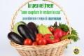 La spesa nel freezer le verdure