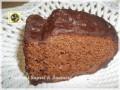 Torta di castagne glassata al cioccolato