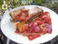 Costine di maiale in padella ai peperoni