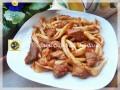 Maccheroni al ferretto con funghi e salsiccia