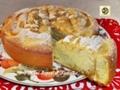 Torta di mele e marmellata di mandarini