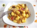 Chicche di patate con verdure e gorgonzola