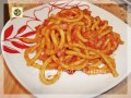 Bucatini all'amatriciana ricetta gustosa