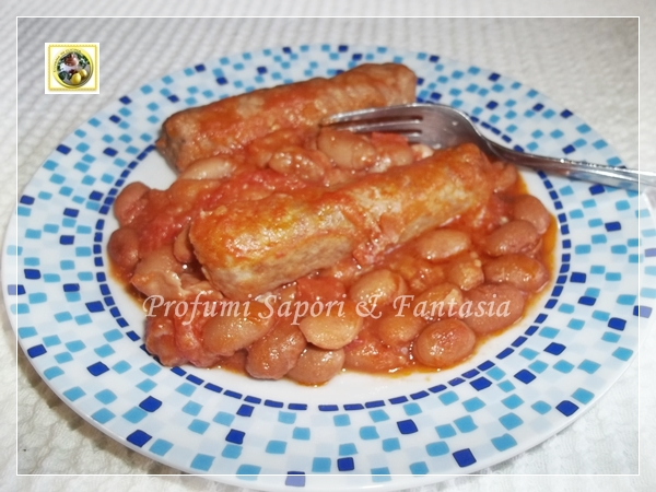 Fagioli e salsiccia alla messicana ricetta  Blog Profumi Sapori & Fantasia