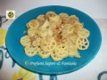 Pasta con cipolle brasate e gorgonzola