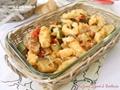 Bocconcini di pollo impanati con verdure piccola