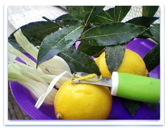 Marinata al limone Blog Profumi Sapori & Fantasia