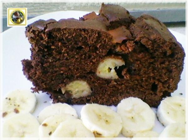 Torta al cioccolato bianco cacao e banane  Blog Profumi Sapori & Fantasia