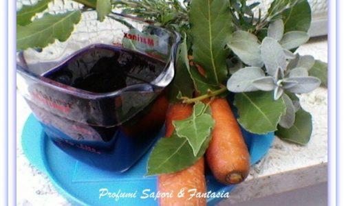 Marinata al vino rosso