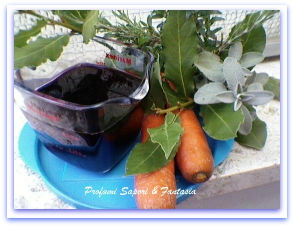 Marinata al vino rosso  Blog Profumi Sapori & Fantasia