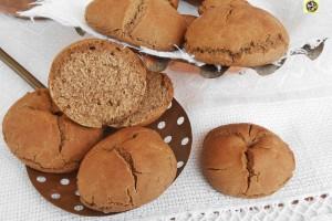 Panini con farina di castagne