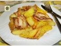 Patate con pancetta croccante