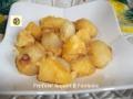 Cipolline borettane e patate brasate al parmigiano