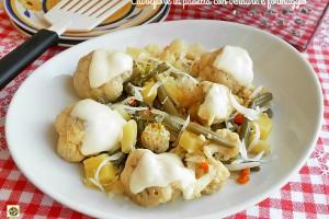 Cavolfiore in padella e formaggio