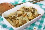 Finocchi con funghi e gorgonzola