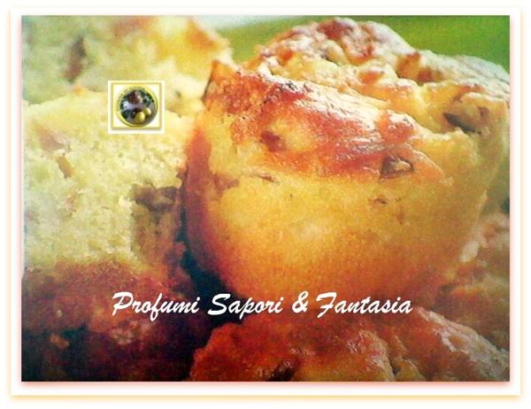 Muffin salati pancetta e cipolle  Blog Profumi Sapori & Fantasia