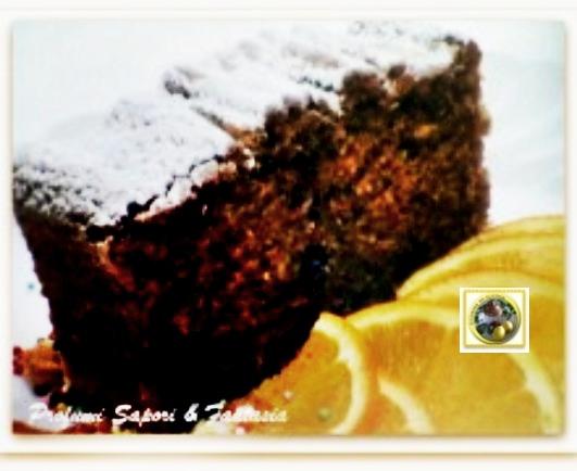 Torta di cioccolato con succo di arancia  Blog Profumi Sapori & Fantasia