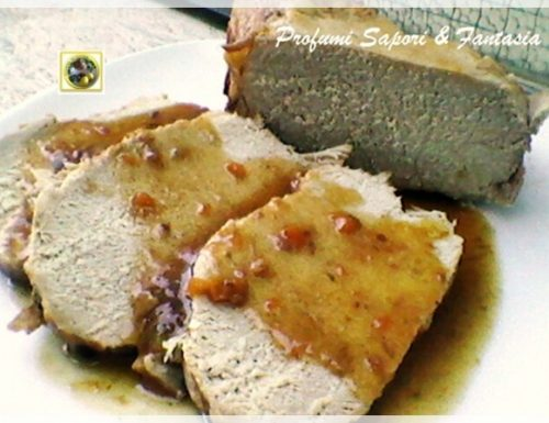 Filetto di maiale al marsala
