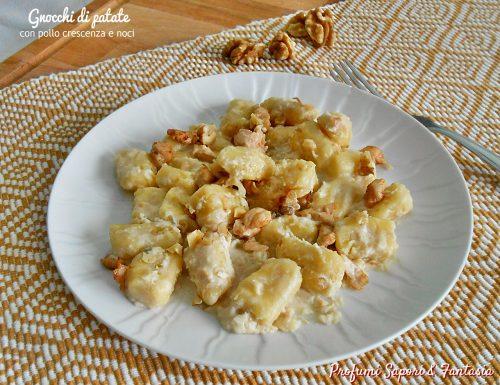 Gnocchi di patate ricetta con pollo e crescenza allo yogurt