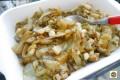 Insalata cotta con scalogni e pancetta
