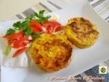 Medaglioni di patate e prosciutto in padella