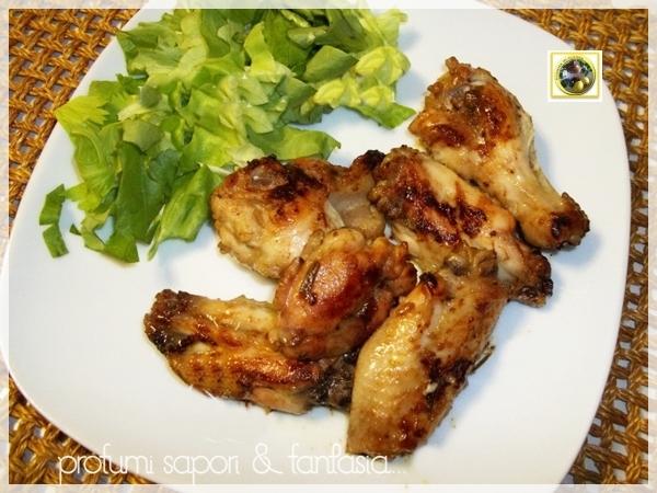 Alette di pollo piccanti  Blog Profumi Sapori & Fantasia