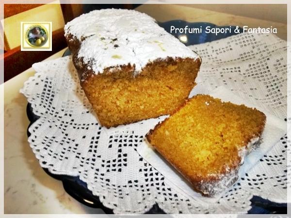 Plumcake al cocco con mandorle e cioccolato  Blog Profumi Sapori & Fantasia