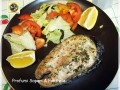 Salmone al forno con erbe aromatiche
