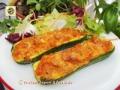 Zucchine ripiene al tonno con asiago, ricetta