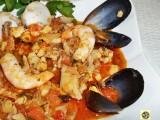 Sugo ai frutti di mare con gamberetti e seppioline