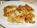 Filetti di pesce persico al forno saporiti