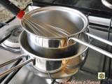 La cottura a bagnomaria sul fornello