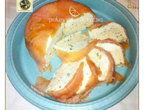Sformato di salmone e ricotta