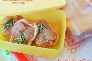 Come conservare o congelare carne e pesce