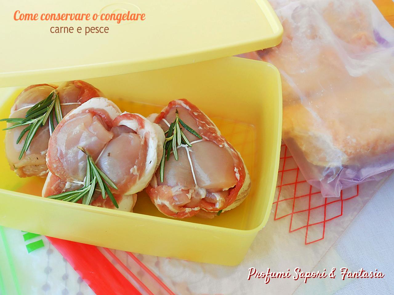 Come conservare o congelare carne e pesce consigli pratici for Cucinare e congelare