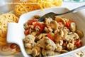 Sugo ai funghi salsiccia e pomodorini