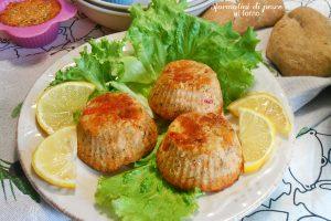 Sformatini di pesce al forno piccola