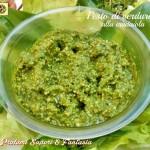 Pesto di verdure alla crudaiola
