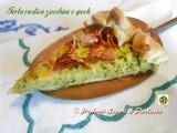 Torta rustica zucchine e speck