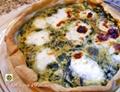 Torta salata ricetta con erbette e crescenza allo yogurt
