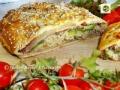 Strudel salato con zucchine e speck, passo passo