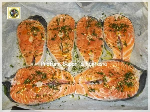 Salmone al forno con erbe aromatiche  Blog Profumi Sapori & Fantasia