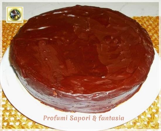 Torta al cioccolato fondente con crema all'arancia Blog Profumi Sapori & Fantasia