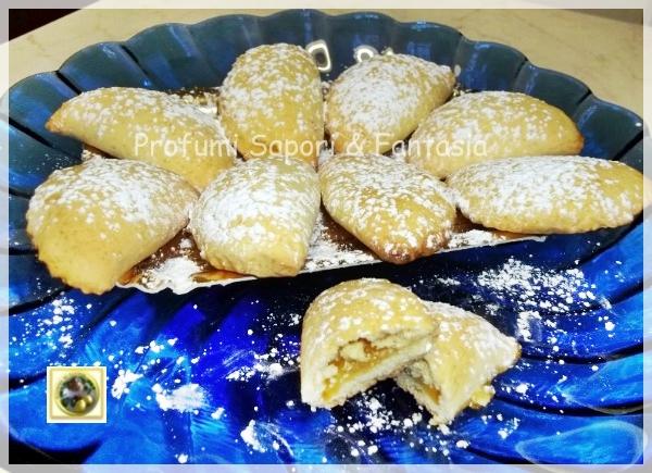 Tortelli dolci alla marmellata di albicocche Blog Profumi Sapori & Fantasia