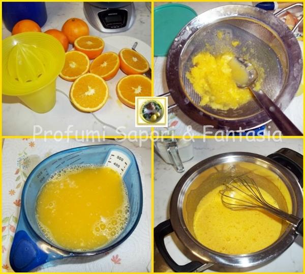 Crema al succo di arancia Blog Profumi Sapori & Fantasia