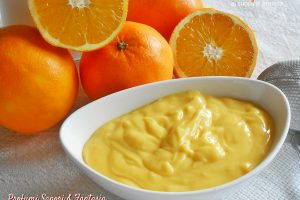 Crema al succo di arancia