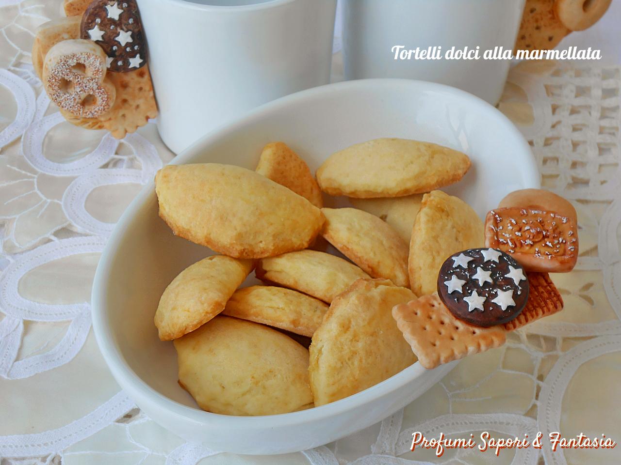Tortelli dolci alla marmellata di albicocche