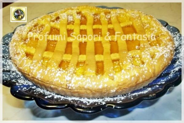 Crostata alla marmellata di arance e mandorle   Blog Profumi Sapori & Fantasia