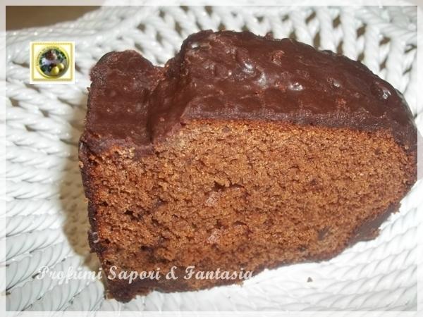 Torta di castagne glassata al cioccolato  Blog Profumi Sapori & Fantasia