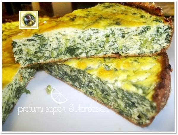 Frittata al forno con ricotta e spinaci  Blog Profumi Sapori & Fantasia